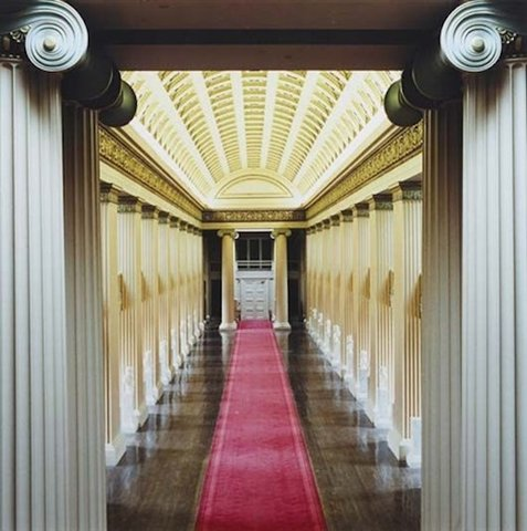 Candida Höfer - Playfair Library Hall, The University of Edinburgh II