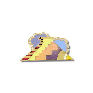 """Pyramid"" Brooch art for sale"