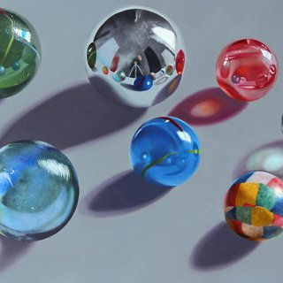 Marbles 10 art for sale