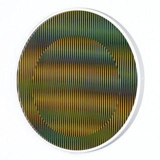 Chromointerference Manipulable Circulaire B art for sale