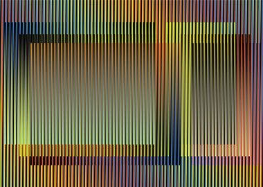 work by Carlos Cruz-Diez - Couleur Additive Liverpool, Paris