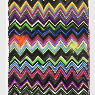 Untitled (Chevron) art for sale