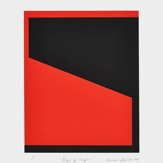 Rojo Y Negro (Red and Black) art for sale