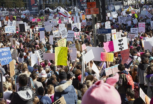 Catherine Opie - Los Angeles Women's March, Photograph