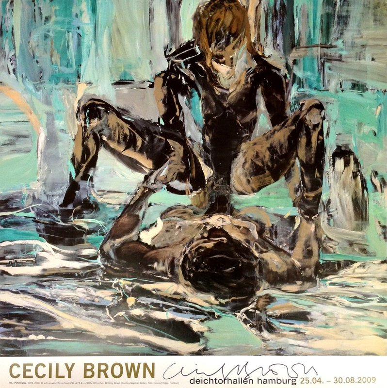 "by cecily_brown - ""Cecily Brown"", Deichtorhallen Hamburg, Germany (Hand Signed)"