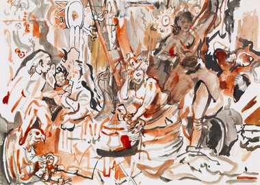Cecily Brown - Strolling Actresses