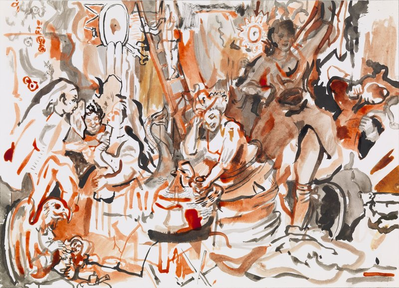 Cecily Brown, Strolling Actresses