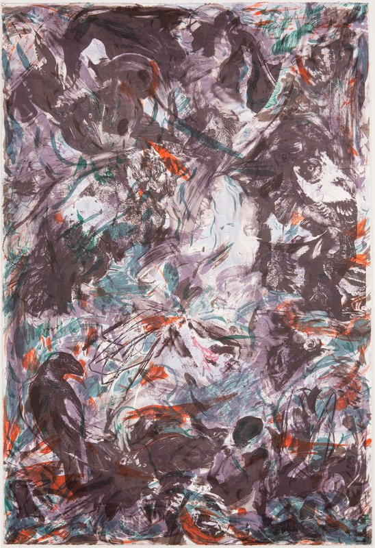 Cecily Brown, The Crow and Kitten