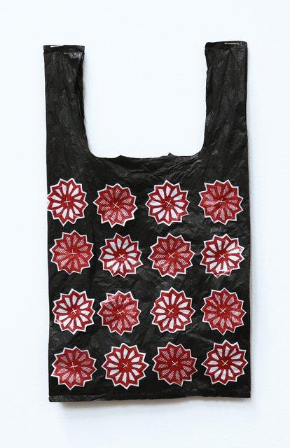 863aedd8114 Celeste Wilson - Japanese Flowers Bag, Mixed Media