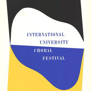 International University Choral Festival - Signed art for sale