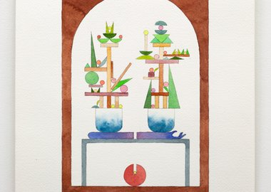 work by Chris Bogia - (Untitled) Plants vs. Zombies