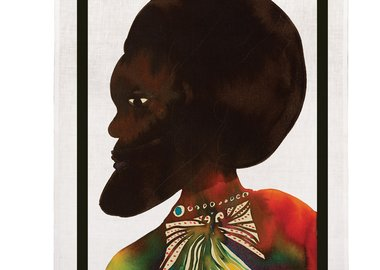 Chris Ofili - Afromuses (Man) Tea Towel