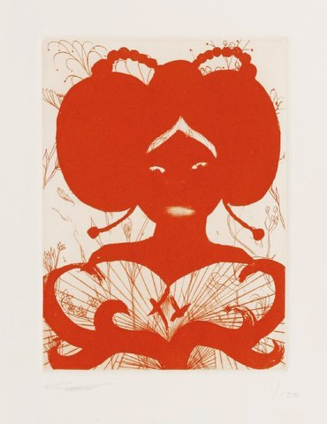 Chris Ofili - Untitled, Print