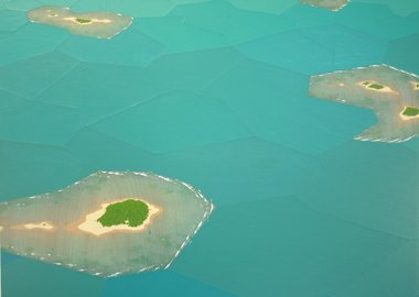 Chris Ballantyne - Atolls, Fractured Landscape