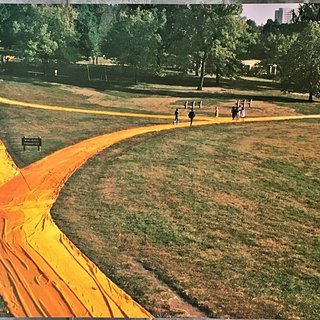 Wrapped Walkways, Loose Park, Kansas City, Missouri (Hand Signed) art for sale