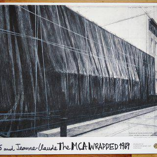 The Wrapped Museum of Contemporary Art (MCA) Chicago, 1969 art for sale