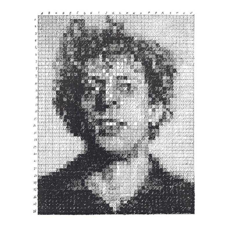 by chuck_close - Phil (from the Rubber Stamp Portfolio)