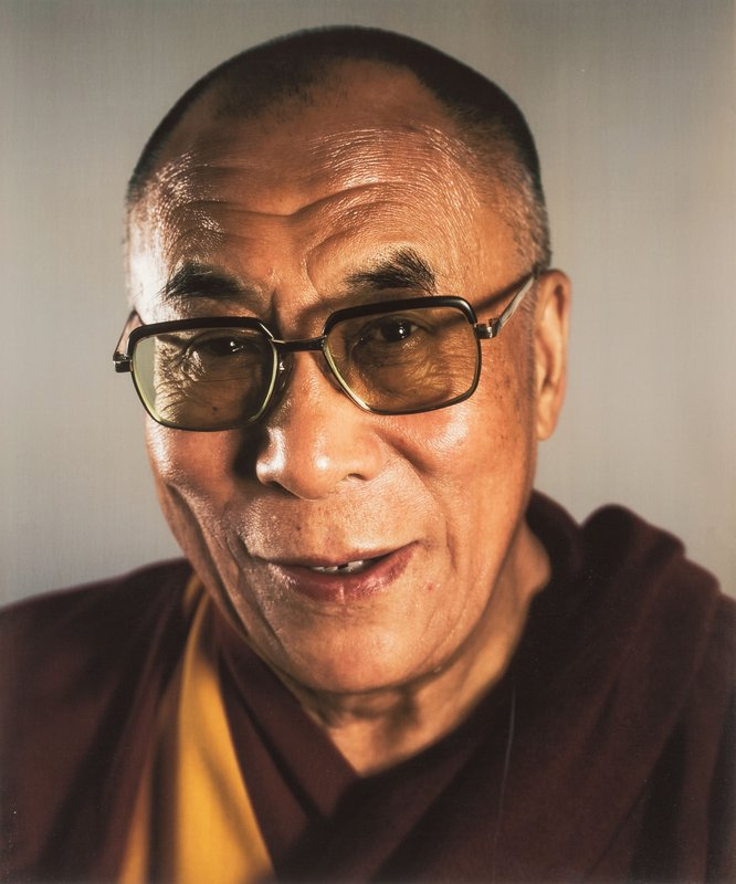 by chuck_close - Dalai Lama