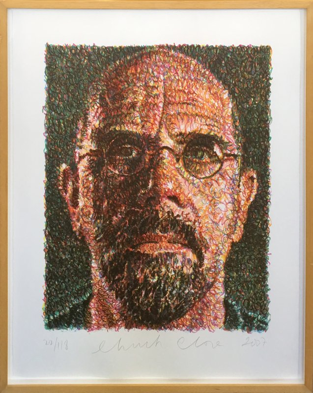 Image result for chuck close photos