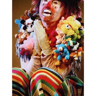 Untitled (stuffed animals clown) art for sale