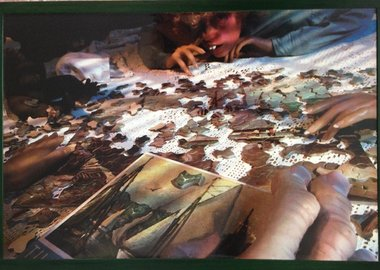 work by Cindy Sherman - Untitled (Puzzle)