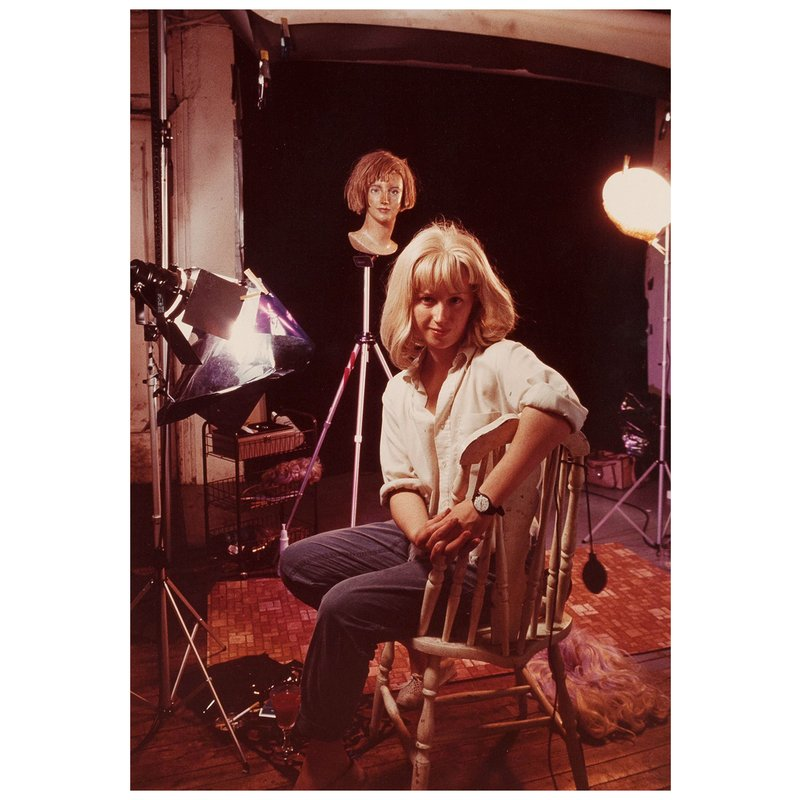 main work - Cindy Sherman, Artist In Her Studio