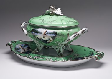 Cindy Sherman - Madame de Pompadour (né Poisson), Apple Green Soup Tureen