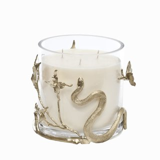 Golden Bronze Candle art for sale