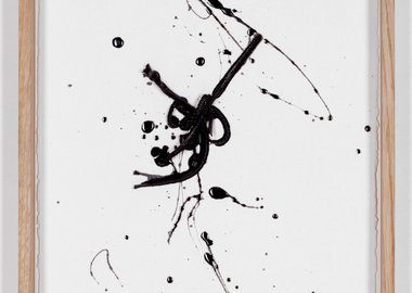 Clemens Wolf - Line Drawing (black) #1