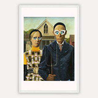 American Gothic in Gucci art for sale