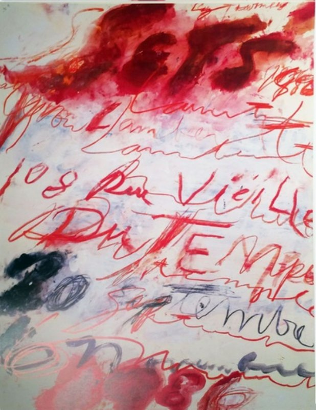 Cy Twombly Artist Bio And Art For Sale Artspace