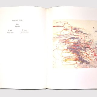 Cy Twombly, Eight Poems, Ten drawings