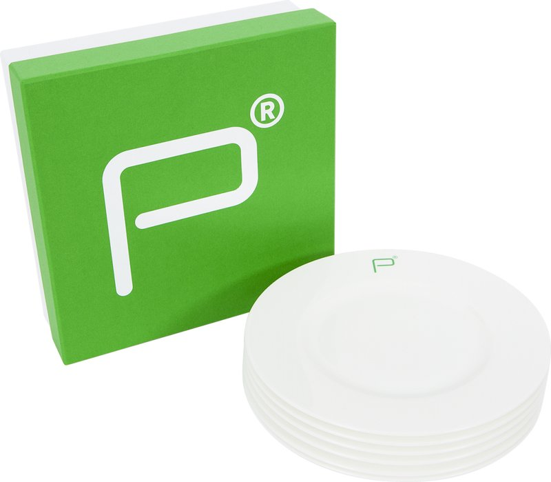 Pharmacy Side Plates – Set of 6 art for sale