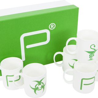 Pharmacy Mugs – Set of 6 art for sale