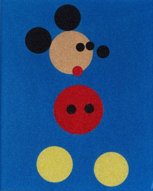 Mickey (Small, Glitter) art for sale