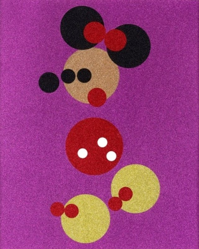 Minnie (Small, Glitter) art for sale
