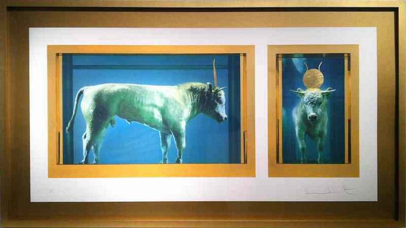 Damien Hirst The Golden Calf For Sale Artspace