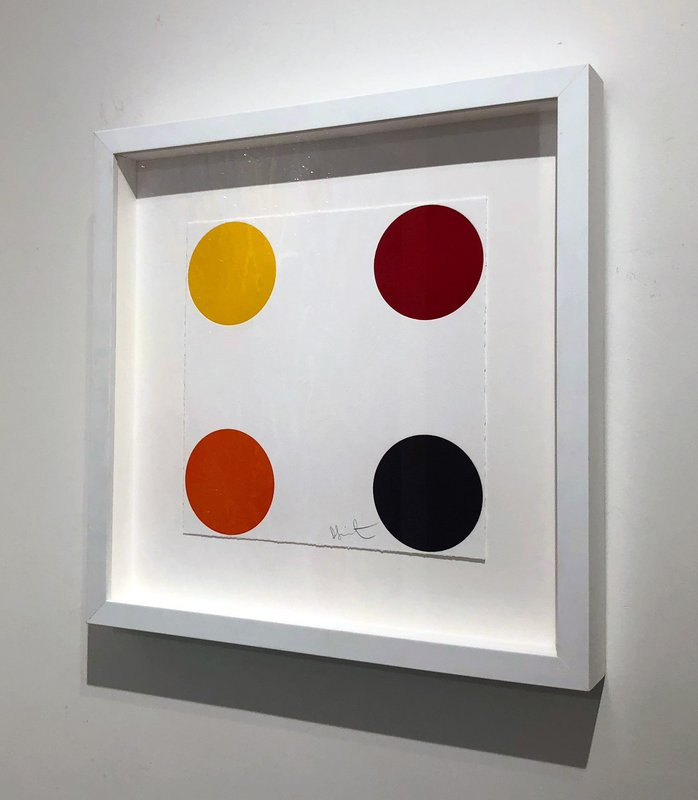 Damien Hirst - Yellow Quad for Sale | Artspace