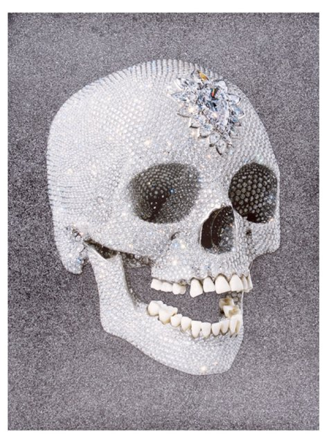 Damien Hirst, For the Love of God, Laugh