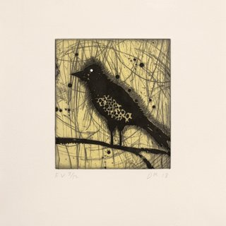 Little Harried Bird [e.v. 3/12] art for sale