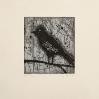 Little Harried Bird [e.v. 5/12] art for sale