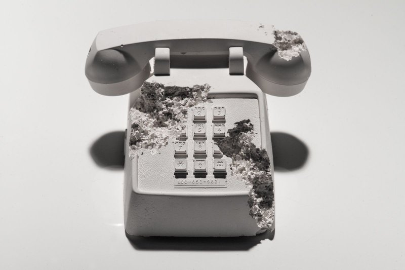 by daniel_arsham - Future Relic 05: Telephone