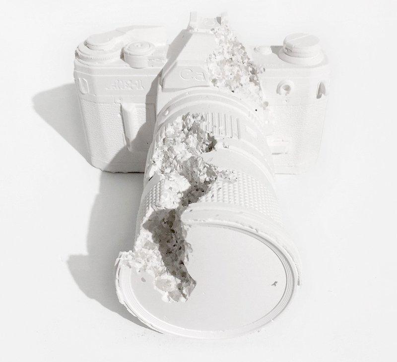 by daniel_arsham - Future Relic 02 (SLR Camera)