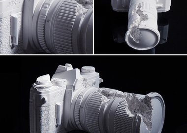 Daniel Arsham - Future Relic 02 (Camera)