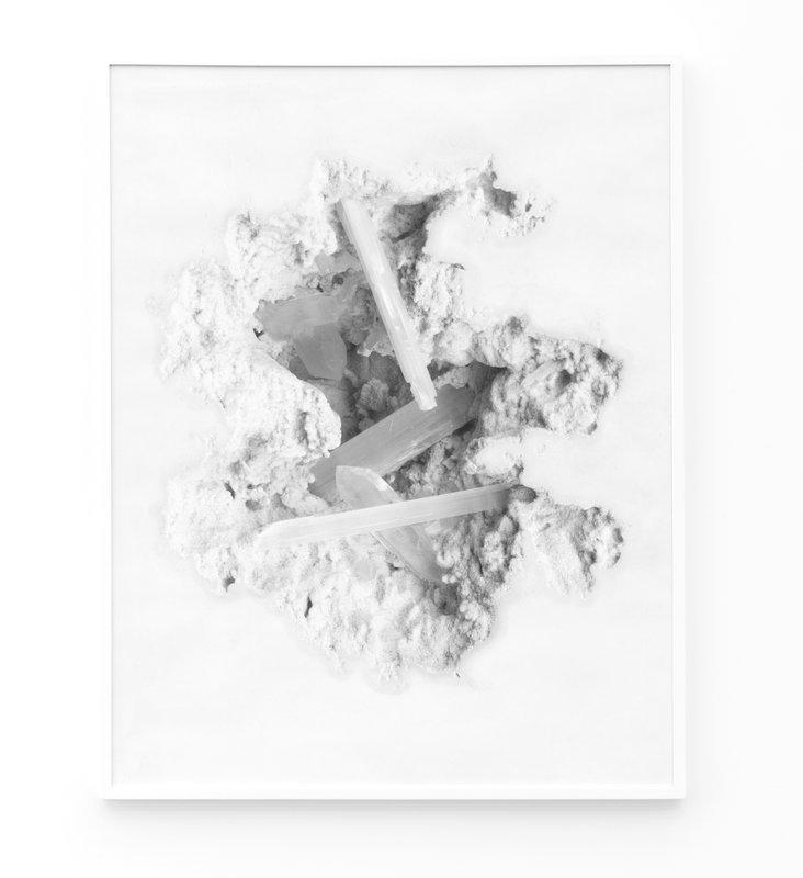 new arrival 8f5ab 2ae08 Daniel Arsham, Selenite Erosion Wallpaper (FRAMED)