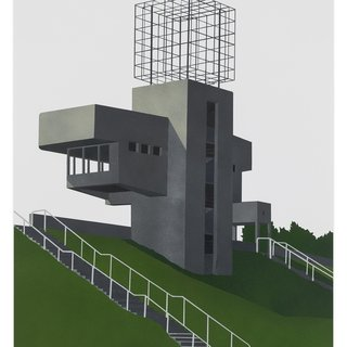 Observation Tower, Lithuania art for sale