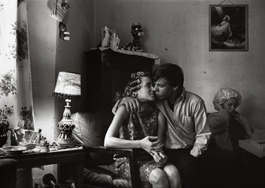 work by Danny Lyon - Inside Kathy's Apartment