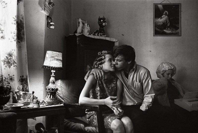 main work - Danny Lyon, Inside Kathy's Apartment