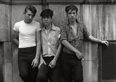 work by Danny Lyon - Three Young Men