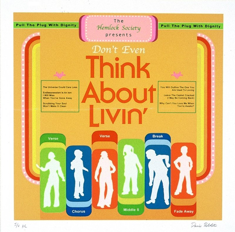 view:2241 - Dario Robleto, I Want You / Sound Odyssey / Don't Even Think About Livin' / Tell It Like It Is - Don't Even Think About Livin'